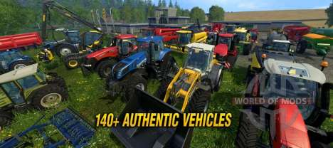 Farming Simulator 2015 новая техника