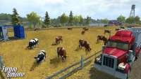 Коровы в Farming Simulator 2013 - скриншот из игры