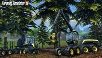 Рубка леса в Farming Simulator 2015