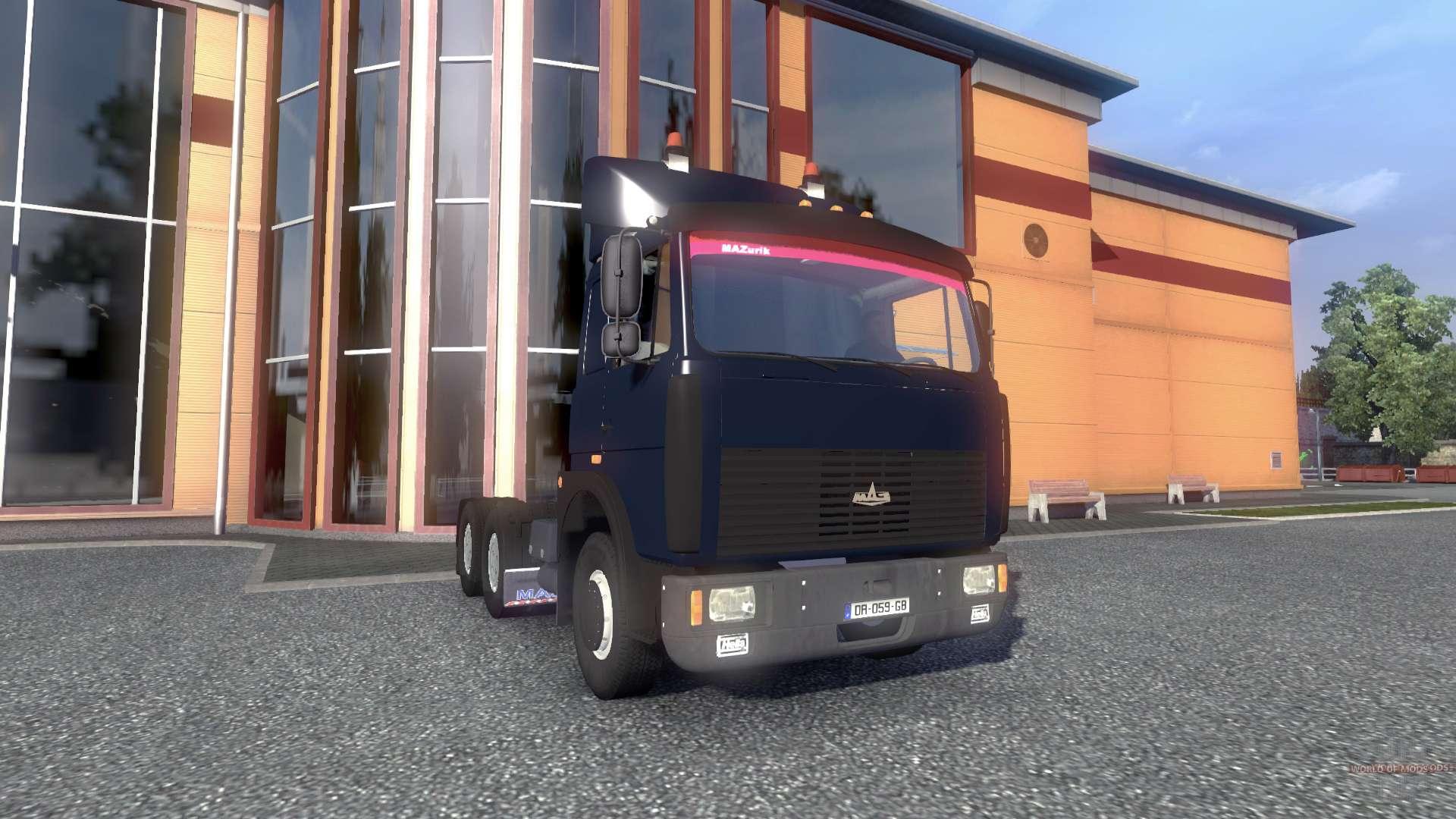 Автомобили для euro truck simulator 2 скачать.