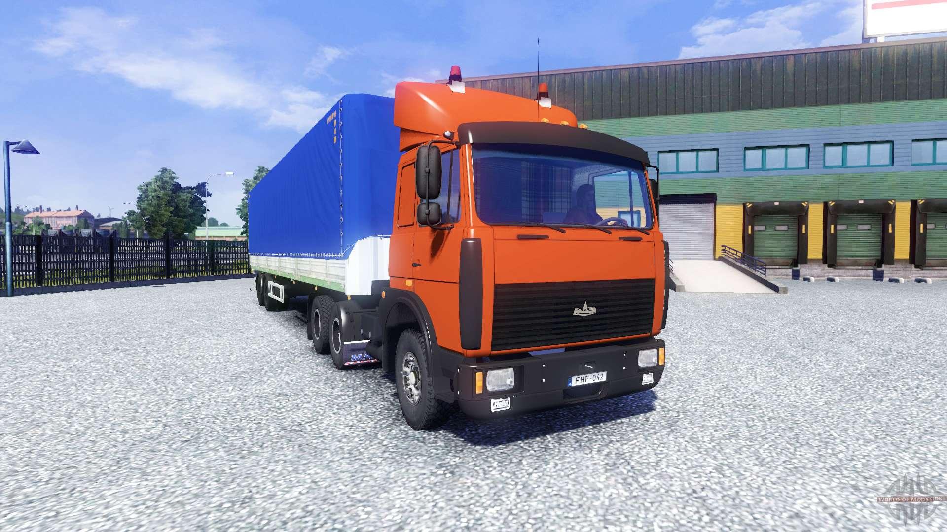 Русские машины трафик для euro truck simulator 2 скачать бесплатно.
