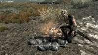 Вилья умеет разжигать костёр