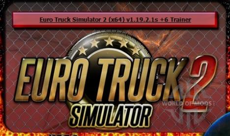 Скачать Euro Truck Simulator 2 trainer