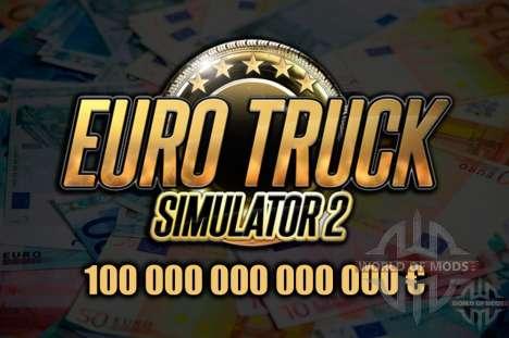 скачать мод на деньги Euro Truck Simulator 2