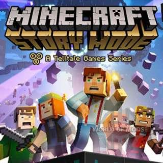 Minecraft стори мод