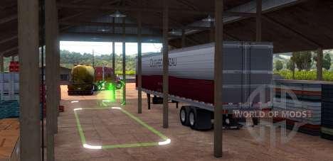 Парковка в American Truck Simulator