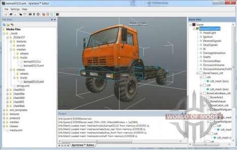 Мод грузовика с минимальными модификациями
