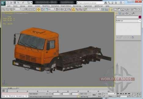 Вид модели в 3D Max