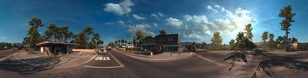 American Truck Simulator - панорама развязки