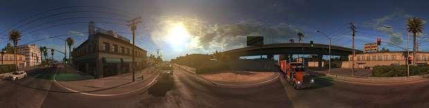 American Truck Simulator - панорама города
