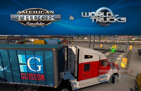 American Truck Simulator и World of Trucks