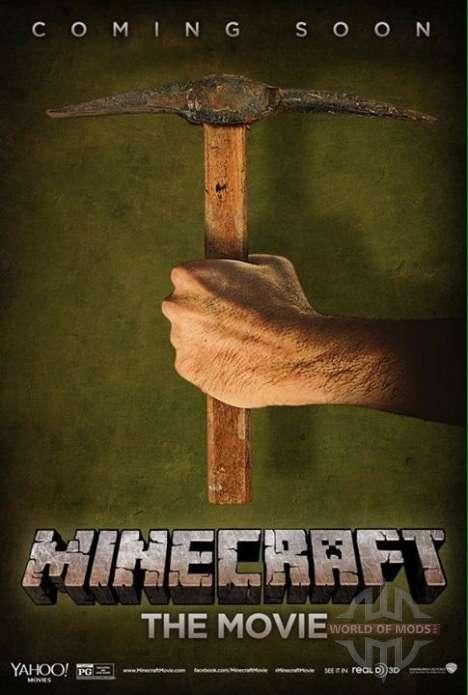 Официальный постер фильма Minecraft