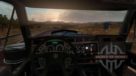 Kenworth W900 - интерьер