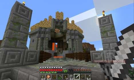 Виртуальная реальность в Minecraft