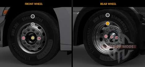 Улучшенная кастомизация колёс для ETS 2