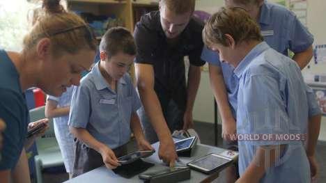 Учителя помогают детям