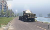 Урал 375 - на берегу
