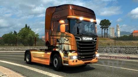 DLC Венгерские и Турецкие окраски для Euro Truck Simulator 2