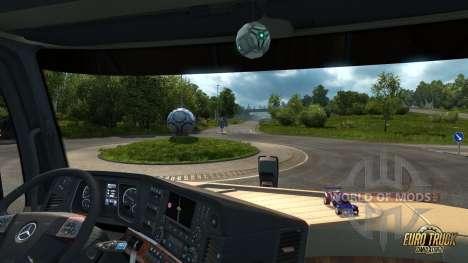 Мяч и машинка для ETS 2