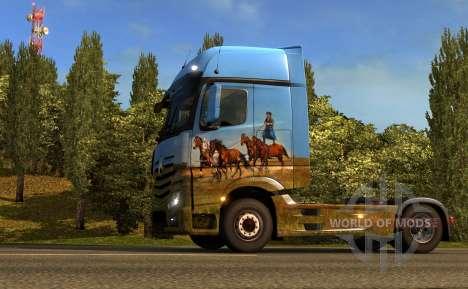 Венгерский скин для грузовика ETS 2