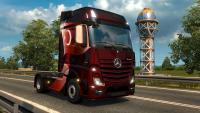Турецкий скин для грузовика ETS 2