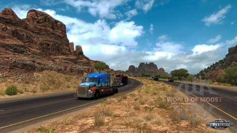 Виды Аризоны в American Truck Simulator