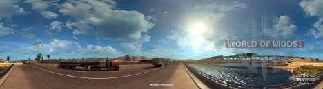 Река Колорадо возле Кингмана в American Truck Simulator
