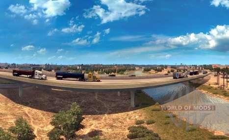 Панорамы Аризоны в American Truck Simulator