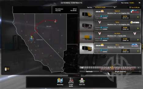 Контракты в American Truck Simulator
