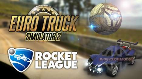 Немного Rocket League в Euro Truck Simulator 2