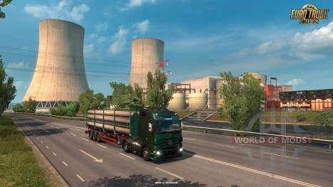 Новые промышленные зоны во Франции ETS 2