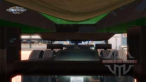 Момент сцепки прицепа и грузовика в American Truck Simulator