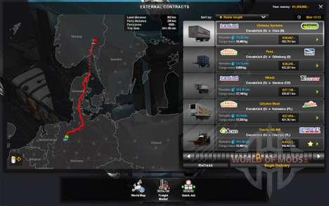 Контракты для World of Trucks