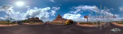 Панорама Аризоны в American Truck Simuulator