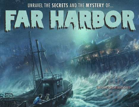DLC Far Harbor для Fallout 4
