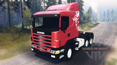 SpinTires Scania R420