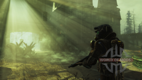 Тот самый радиоактивный туман в Fallout 4
