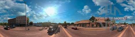 Панорама Аризоны из American Truck Simulator