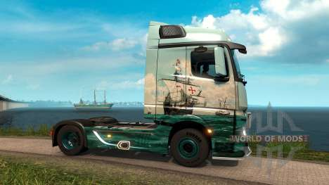 Across the Ocean для Euro Truck Simulator 2