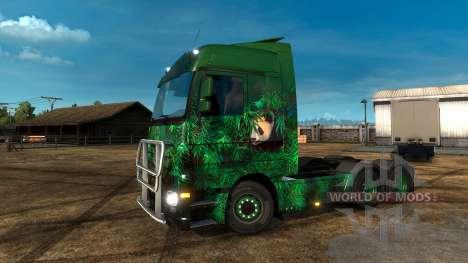 Lucky Panda-скин для Euro Truck Simulator 2