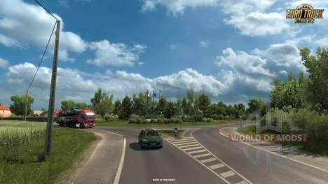 Новые скриншоты Vive La France DLC для Euro Truck Simulator 2