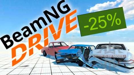 25% скидка на BeamNG Drive в Steam
