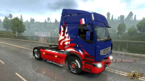 Французский флаг из Euro Truck Simulator 2