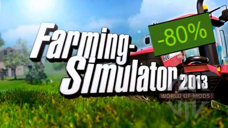 Скидка 80% на Farming Simulator 2013