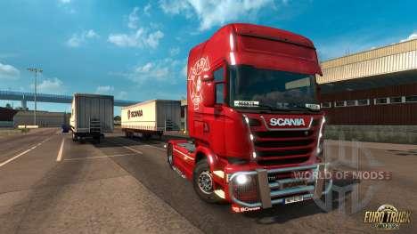 Mighty Griffin DLC для Euro Truck Simulator 2