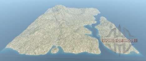 Вся карта Италия для BeamNG Drive