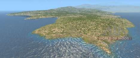 Карта Италия для BeamNG Drive