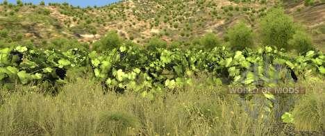 Растительность на карте Италия для BeamNG Drive