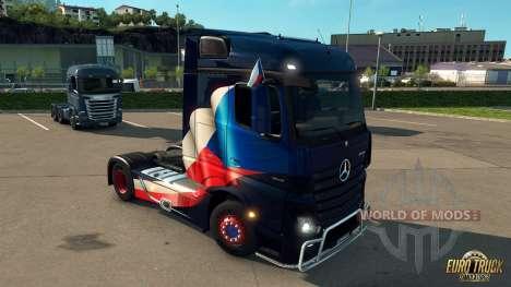 DLC c флажками для Euro Truck Simulator 2