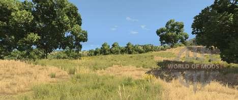Деревья на карте Италия для BeamNG Drive